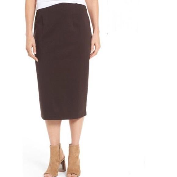 fabbd88f98 Eileen Fisher Skirts | Nwt Sz Xl Calf Length Pencil Skirt | Poshmark